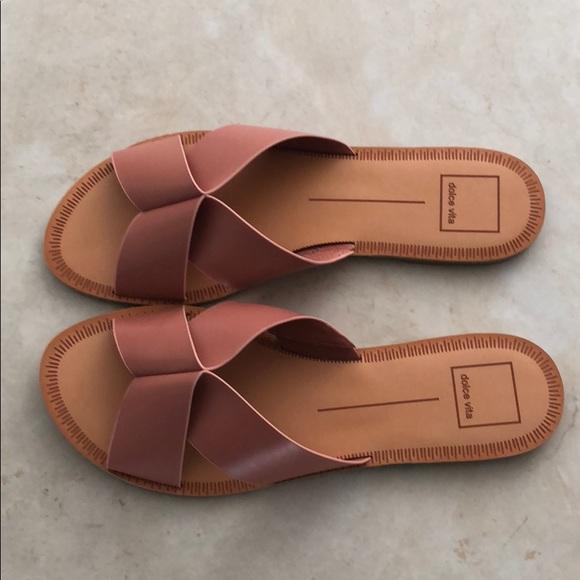 606fe3dc2983 Dolce Vita Cain Two Strap Slide Sandal